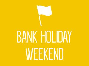 June Bank Holiday Weekend